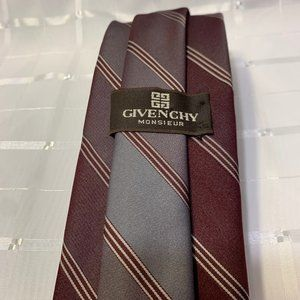 EUC VINTAGE Givenchy  Monsieur tie made in the USA